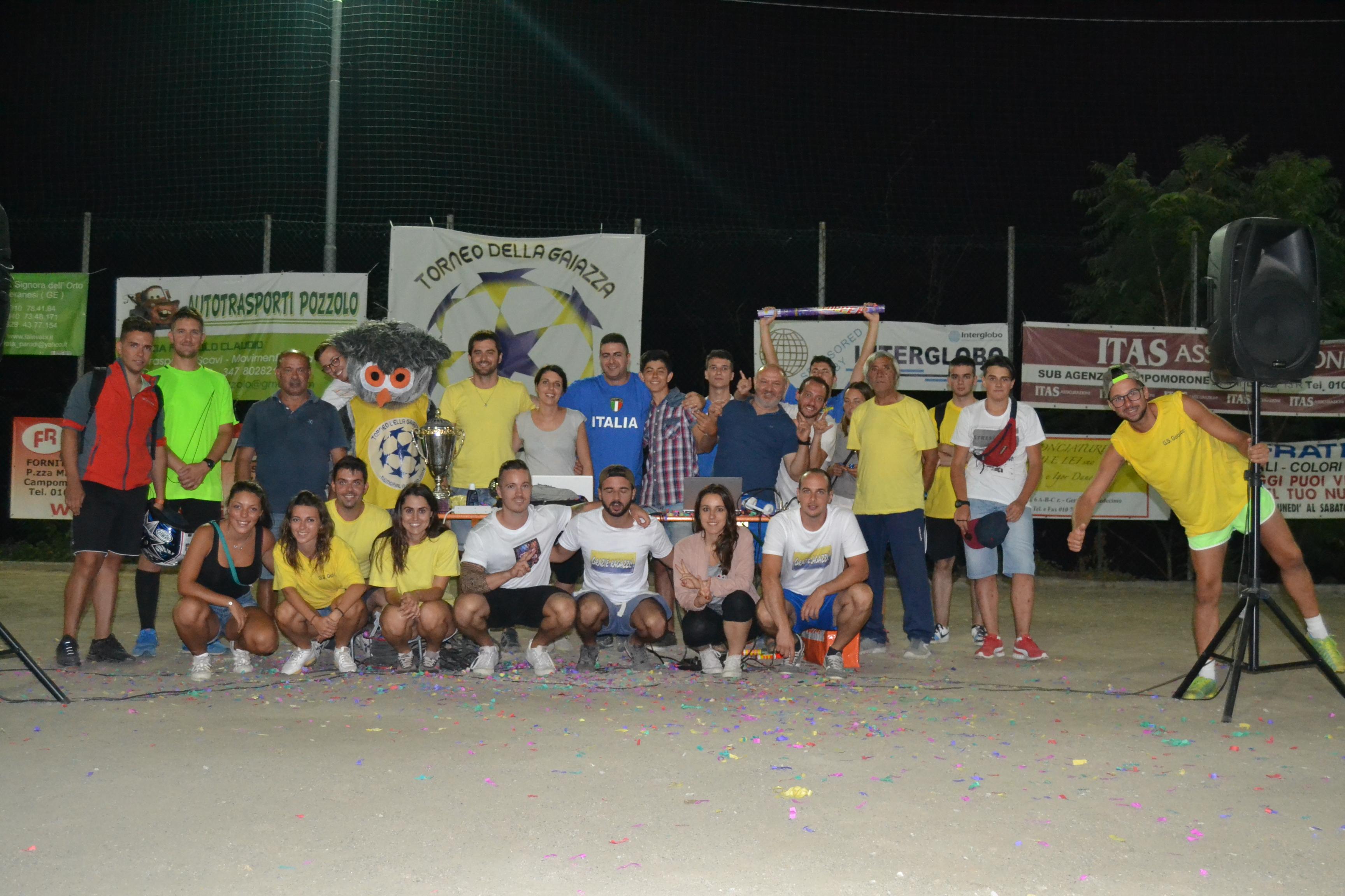 Staff torneo 2016