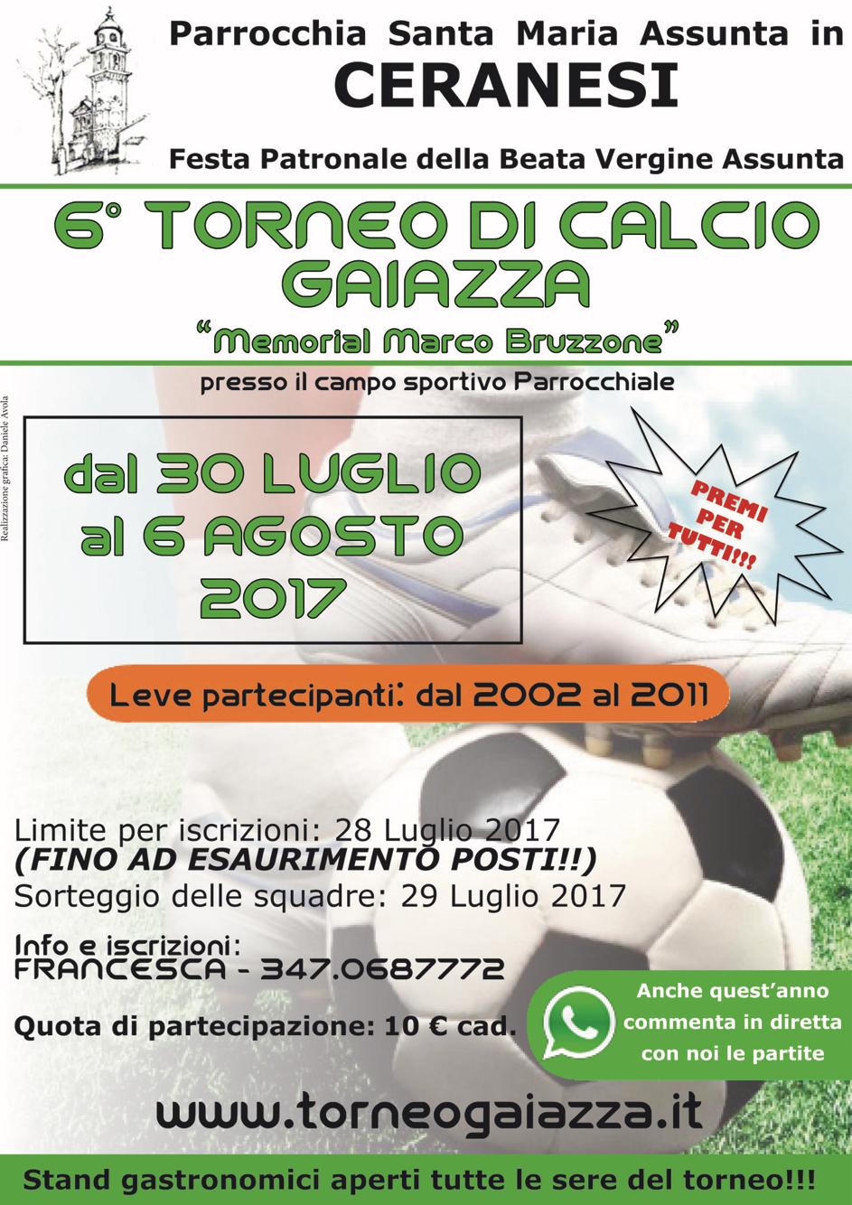Manifesto torneo 2017